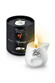 МАССАЖНАЯ СВЕЧА PLAISIRS SECRETS BOUGIE MASSAGE CANDLE NOIX DE COCO COCONUT 80 ML.