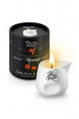 МАССАЖНАЯ СВЕЧА PLAISIRS SECRETS BOUGIE MASSAGE CANDLE JARDIN SECRET  COQUELICOT POPPY 80 ML.