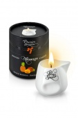 МАССАЖНАЯ СВЕЧА PLAISIRS SECRETS BOUGIE MASSAGE CANDLE ANANAS MANGUE PINEAPPLE MANGO 80 ML.